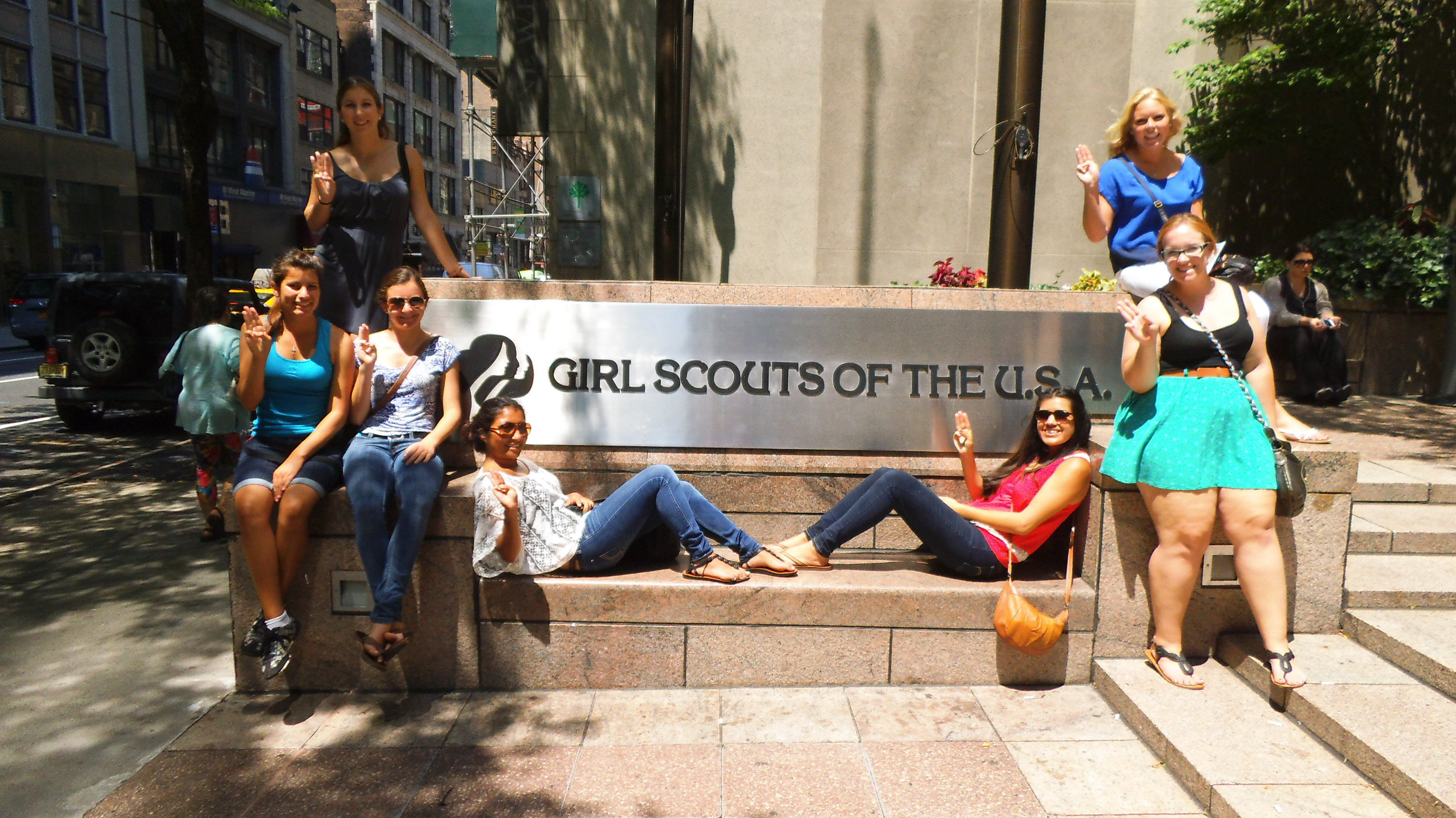 visit nyc girl scout travel pathway